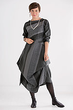 Madison Striped Dress by Heydari  (Woven Dress)