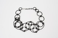 Leora Necklace by Kathleen Nowak Tucci (Rubber Necklace)