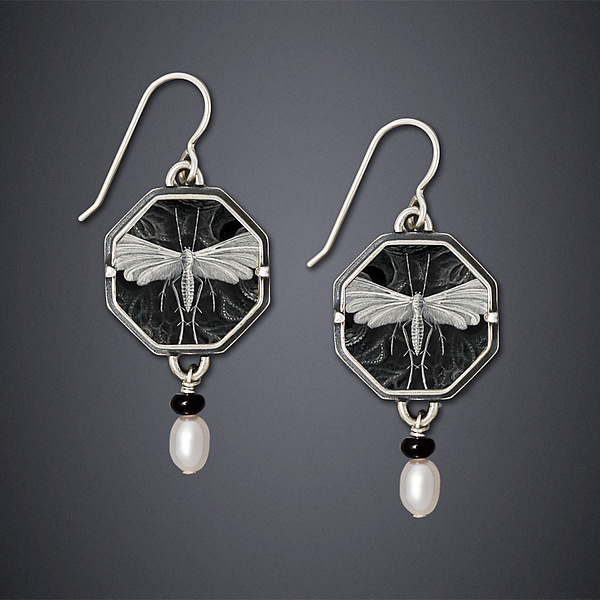 Night Moth Earrings