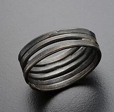 Hammered Wrap Ring by Randi Chervitz (Silver Ring)