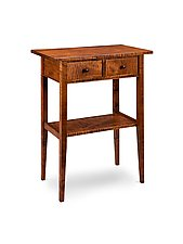 Traditional Hall Table by Tom Dumke (Wood Side Table)