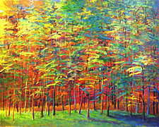 Heat In The Back Of The Forest by Ken Elliott (Giclee Print)