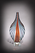 Pharaoh by Michael  Hermann and Gina Lunn (Art Glass Vessel)
