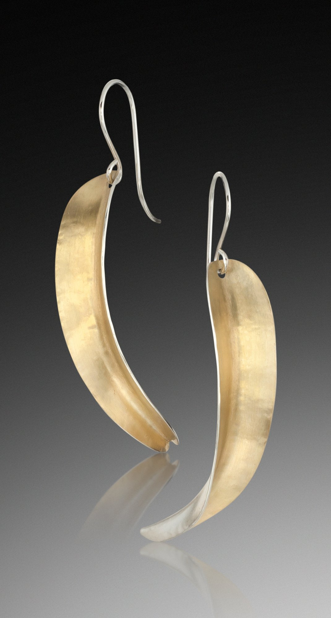 Willow Earrings in Bi-Metal