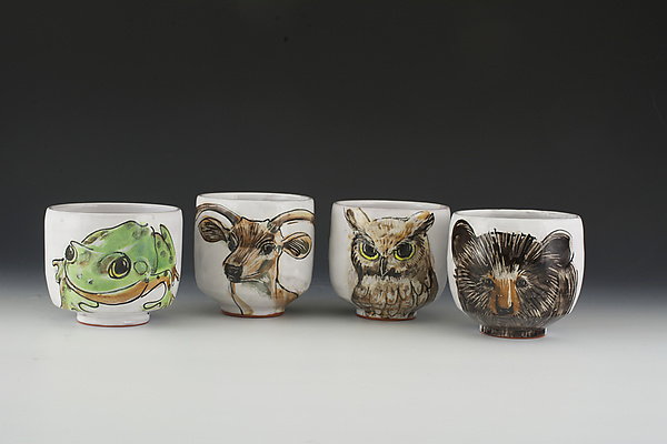 Woodland Critter Cup Set