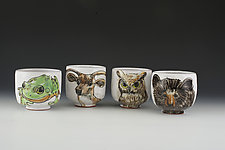 Woodland Critter Cup Set by Eileen de Rosas (Ceramic Mugs)