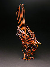 Cocky Magpie by Charles McBride White (Metal Sculpture)