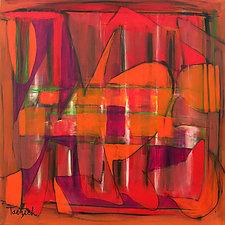 Always Forward by Lynne Taetzsch (Acrylic Painting)