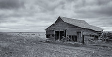Abandoned - Eastern Wyoming by J.L. Rodman (Black & White Photograph)