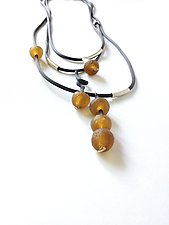 Touch Oh Honey Necklace by Dagmara Costello (Rubber & Stone Necklace)