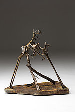 Romp by Sandy Graves (Bronze Sculpture)