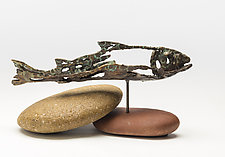 Story Maker by Sandy Graves (Bronze Sculpture)
