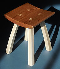 Everywhere Stool by Steven M. White (Wood Stool)
