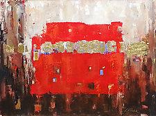 Fervor by LeslieAnn Butler (Mixed-Media Wall Art)