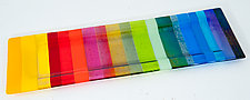 Rainbow Platter by Renato Foti (Art Glass Platter)