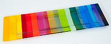 Rainbow Platter by Renato Foti (Art Glass Platter)