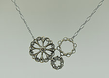 3 Sirens Necklace by Catherine Grisez (Silver Necklace)