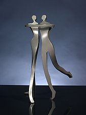 Elegant Dancers by Boris Kramer (Metal Sculpture)
