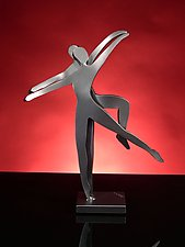 Intimate Dancers by Boris Kramer (Metal Sculpture)