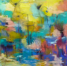 When We Were Young #2 by Victoria Ryan (Pastel Painting)