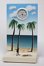 Driftwood by Pascale Judet (Painted Clock)