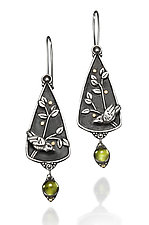 Goldberry Earrings by Vickie  Hallmark (Silver & Stone Earrings)