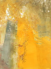 Sunshine Came Softly 2 by Sandra Humphries (Monotype Print)