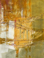 Sunshine Came Softly 3 by Sandra Humphries (Monotype Print)