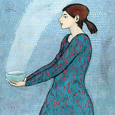 Bringing Food by Brian Kershisnik (Giclee Print)