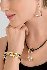 Swan Bracelet by Nancy Linkin (Gold & Silver Bracelet)