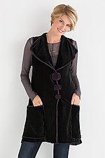 Velvet Retro Vest by Giselle Shepatin  (Velvet Vest)