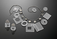 Plexi-Class Jewelry by Maja  (Silver and Acrylic Jewelry)
