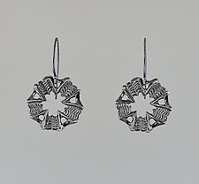Siren Clover Earrings by Catherine Grisez (Silver Earrings)