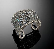Labradorite Cuff by Tana Acton (Silver & Stone Cuff`)