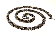 Mamba Necklace by Edith Schneider (Silver Necklace)