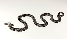 Baby Python Necklace by Edith Schneider (Silver Necklace)