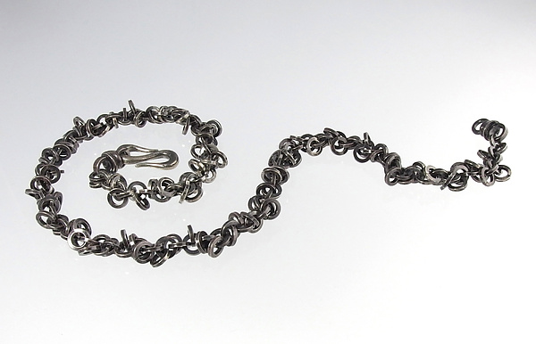 Ring Snake Necklace