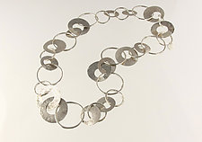 Flamenco Necklace by Edith Schneider (Silver Necklace)