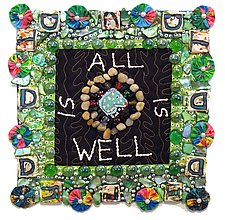All Is Well by Therese May (Fiber Wall Art)