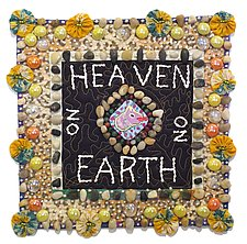 Heaven On Earth by Therese May (Fiber Wall Art)