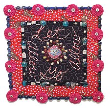 Let Go Allow by Therese May (Fiber Wall Art)