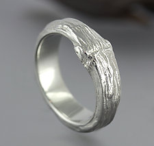 Man's Branch Ring by Sarah Hood (Silver Ring)
