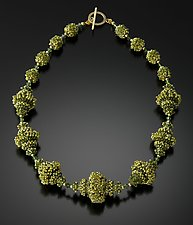 Spring Glen Necklace by Kathy King (Beaded Necklace)
