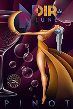 Noir de Lune by M. Kungl (Giclee Print)