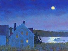 Island Moon I by Suzanne Siegel (Giclee Print)