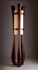 Chronos by Kyle Dallman (Wood Floor Lamp)