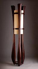 Chronos by Kyle Dallman (Wood Floor Lamp)