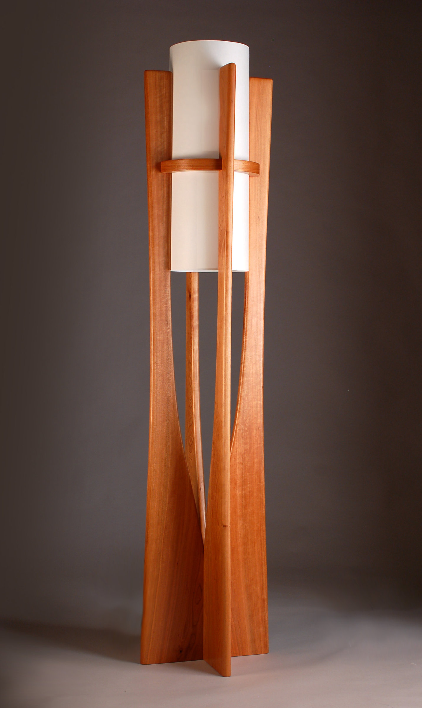 Apollo By Kyle Dallman Wood Floor Lamp Artful Home