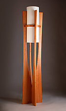 Apollo by Kyle Dallman (Wood Floor Lamp)