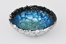 Atlantic Rim by Mira Woodworth (Art Glass Bowl)